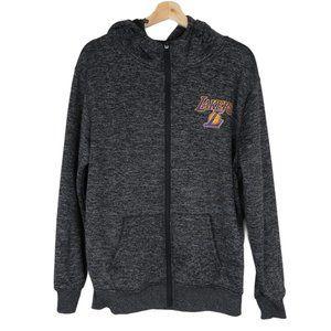 NBA Men's LA Lakers Zip Front Hoodie Size S